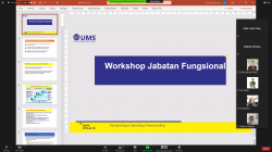 Workshop of FIK UMS Lecturer Functional Positions